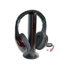 Fone de ouvido Stereo Com Base Bluetooth